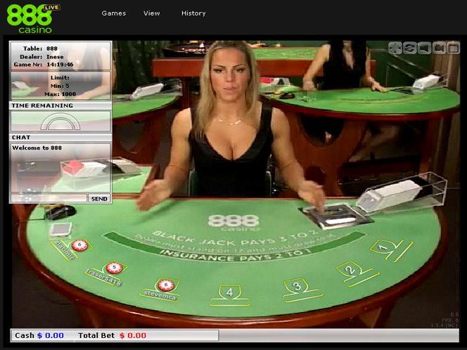 Play Unlimited Blackjack Live Online at Casino.com India