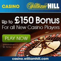 william hill casino club welcome bonus
