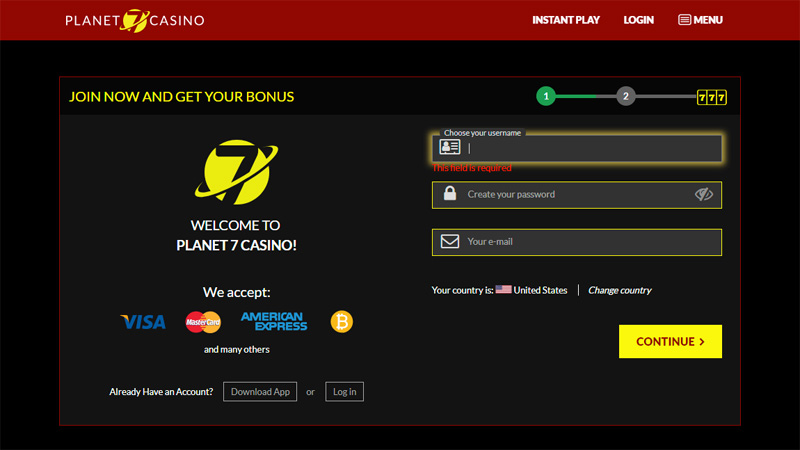 Planet 7 Casino Phone Number