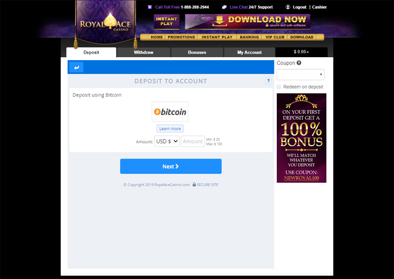 Best Royal Ace Casino Bonuses - 1