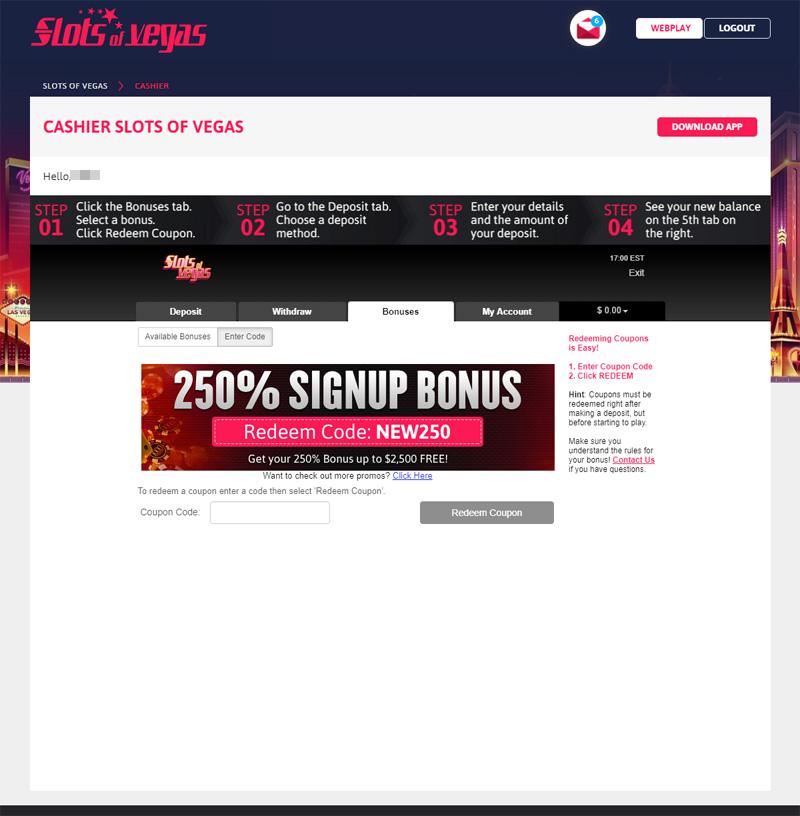 Slots Of Vegas Bonus Codes 2021