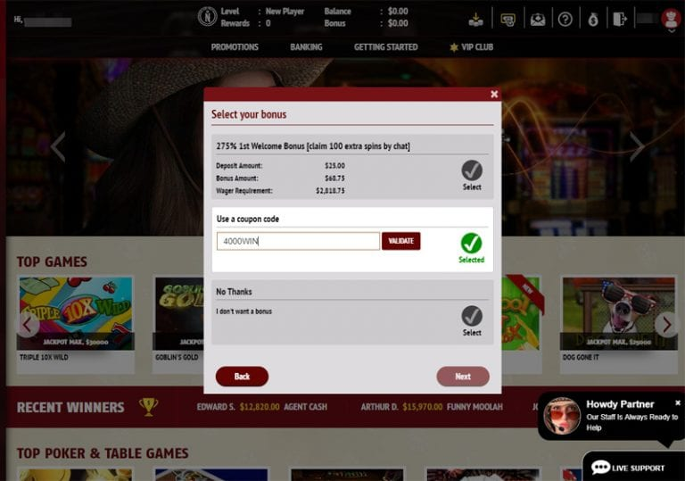 Red Stag Casino Coupon Code
