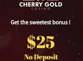 Cherry Gold Casino No Deposit Bonus and Welcome Bonuses