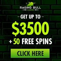 Raging Bull Casino Bonus Codes