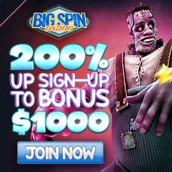 Big Spin Casino Welcome Bonus Codes