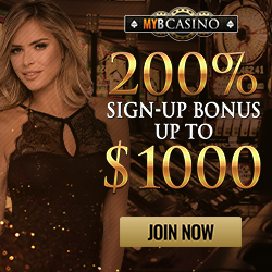 MYB Casino Welcome Bonus Codes